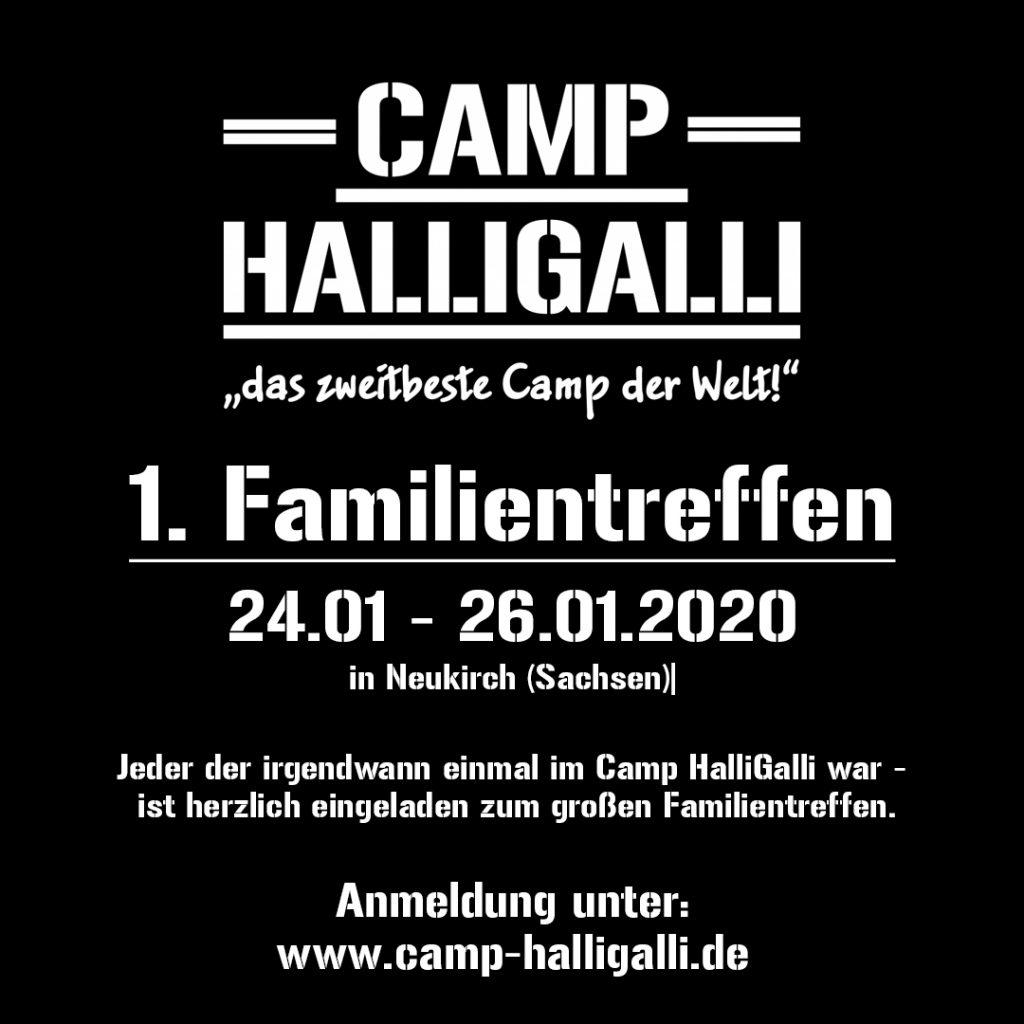Camp HalliGalli Familientreffen