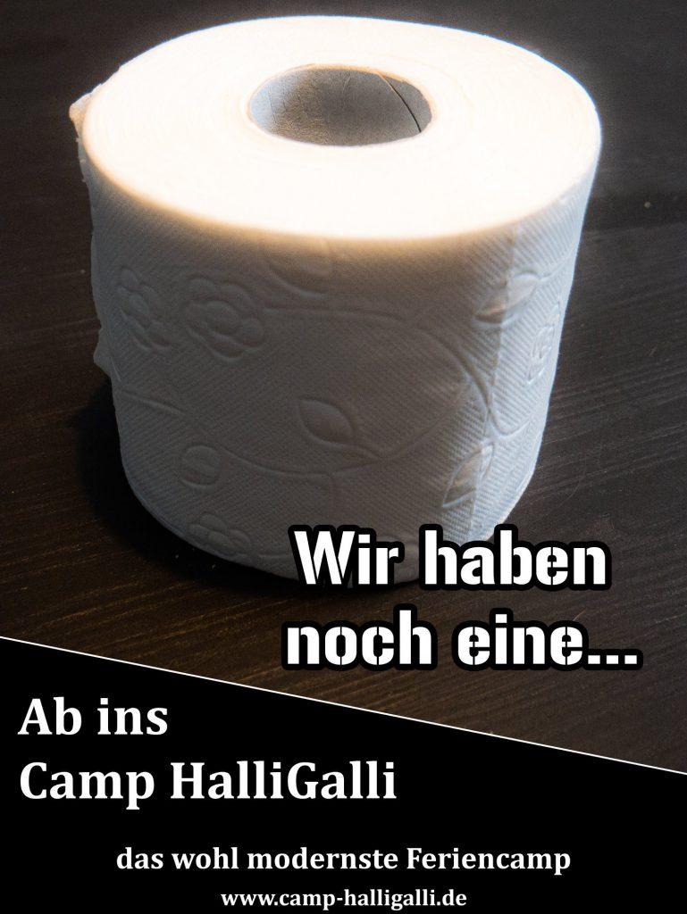 Werbekampagne Camp HalliGalli