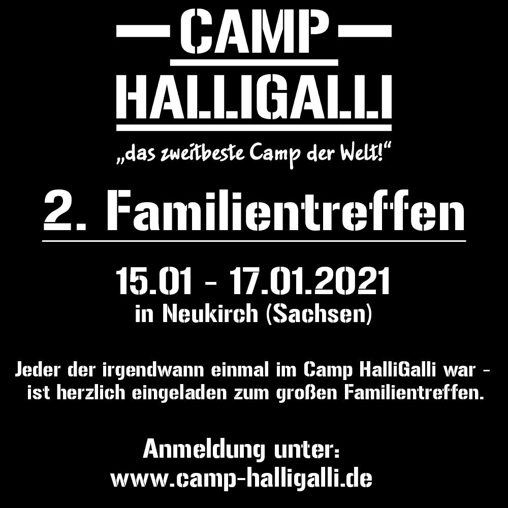 Familientreffen Camp HallliGalli