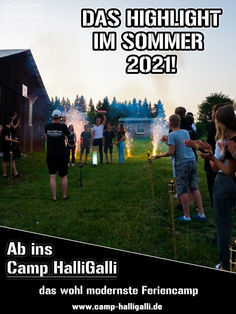 Moderne Ferienlager Camp HalliGalli